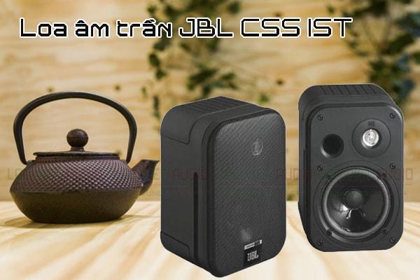 Tính năng nổi bật của sản phẩm Loa treo tường JBL CSS 1S/T