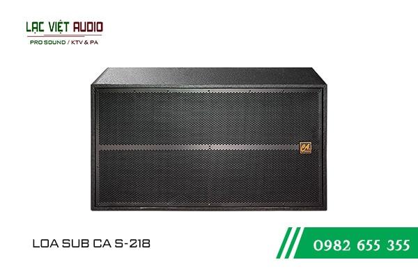 Giới thiệu về sản phẩm Loa sub CA S 218