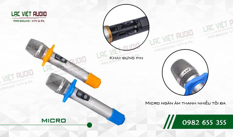 Đặc điểm nổi bật của Micro không dây AAP M6