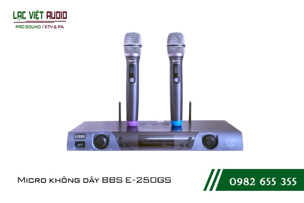 Giới thiệu về sản phẩm Micro BBS E 250GS
