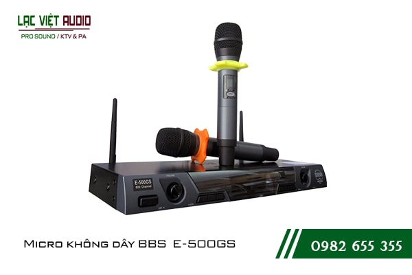 Giới thiệu Micro karaoke BBS E500GS