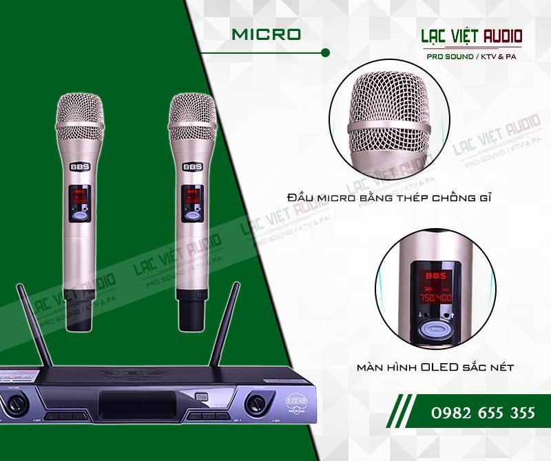 Những đặc điểm nổi bật của Micro BBS S135GS