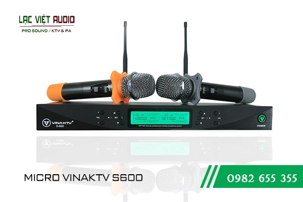 Giới thiệu về sản phẩm Micro VinaKTV S600