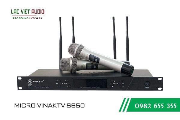 Giới thiệu về sản phẩm Micro VinaKTV S650