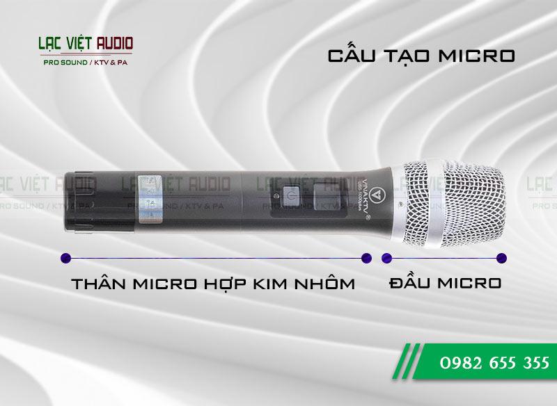 Giới thiệu về sản phẩm Micro VinaKTV USS1000 Plus