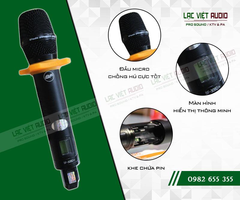 Thông số kỹ thuật của sản phẩm Micro BFaudio K309D+
