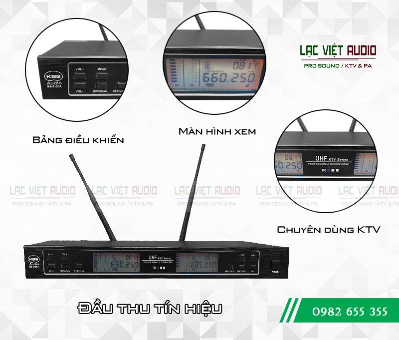 Chi tiết mặt trước Micro không dây KBS BS 5100A chất lượng cao giá cực tốt