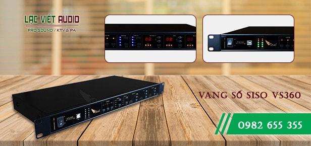 Chi tiết cấu tạo mặt trước sản phẩm vang số - Lạc Việt Audio