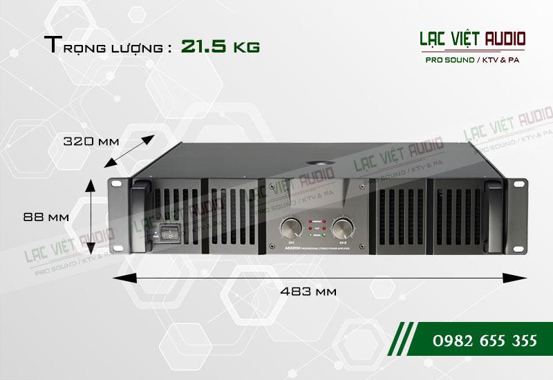 Thiết kế của sản phẩm Cục đẩy Soundking AE2200