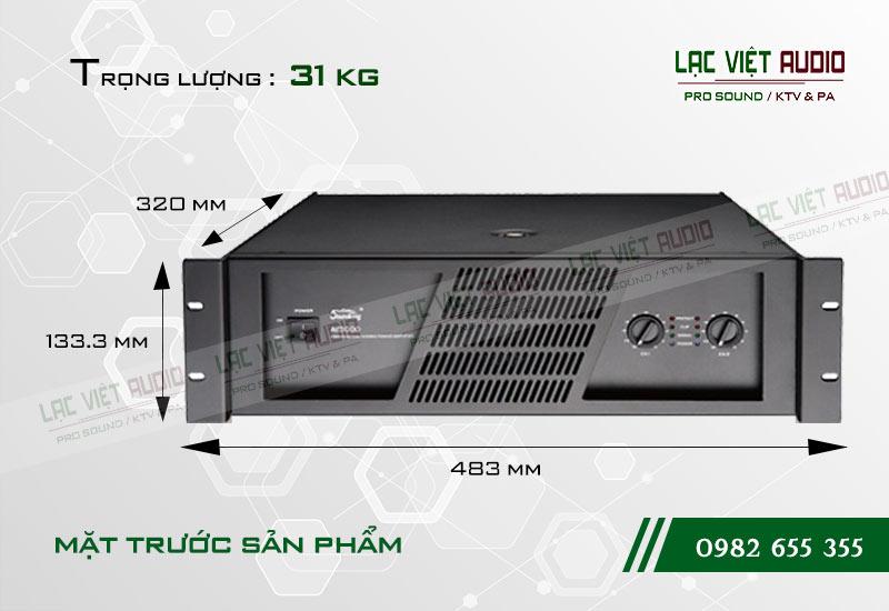 Thiết kế của sản phẩm Cục đẩy Soundking AE3000
