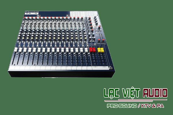 Giới thiệu sản phẩm Bàn mixer Soundcraft FX16ii