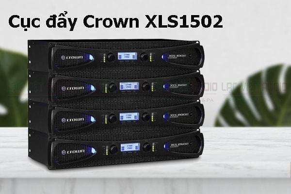 Tính năng nổi bật của sản phẩm Cục đẩy Crown XLS1502