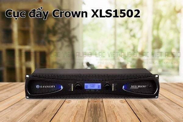 Thiết kế bên ngoài của sản phẩm Cục đẩy Crown XLS1502