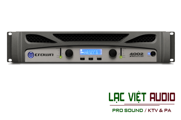 Giới thiệu về sản phẩm Cục đẩy Crown XTi4002