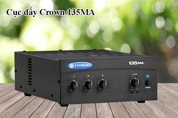 Tính năng của sản phẩm Cục đẩy Crown 135MA