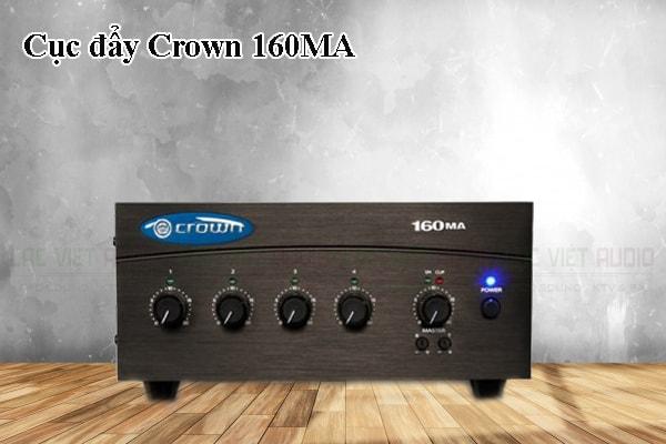 Tính năng của sản phẩm Cục đẩy Crown 160MA