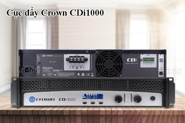 Thiết kế bên ngoài của sản phẩm Cục đẩy Crown CDi1000