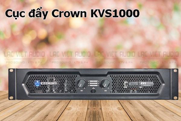 Tính năng nổi bật của sản phẩm Cục đẩy Crown KVS1000