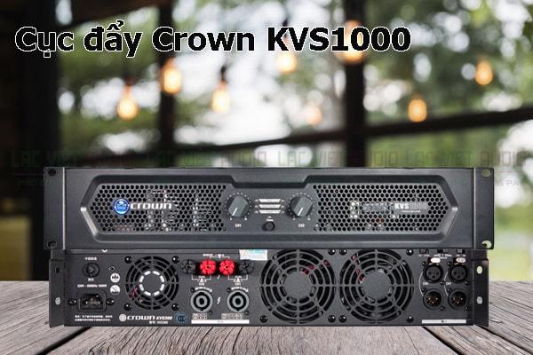 Thiết kế bên ngoài của sản phẩm Cục đẩy Crown KVS1000