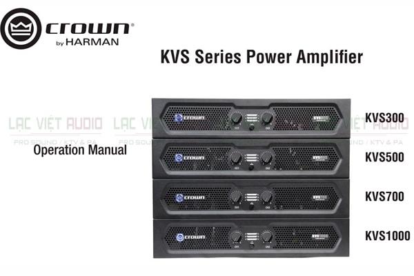 Tính năng nổi bật của sản phẩm Cục đẩy Crown KVS700