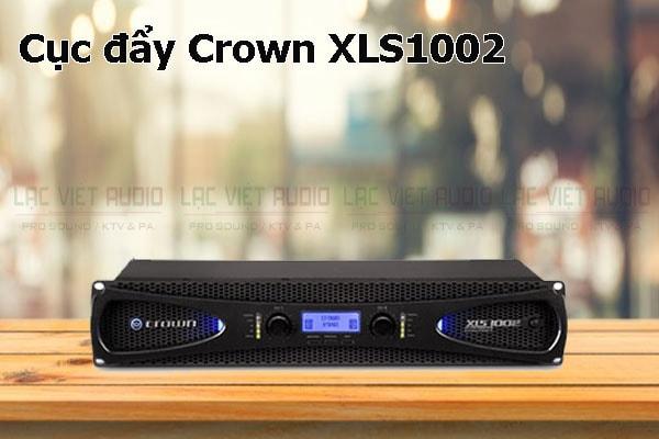 Tính năng nổi bật của sản phẩm Cục đẩy Crown XLS1002