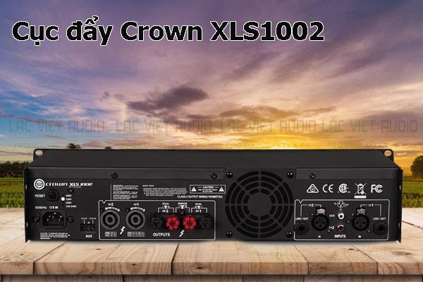 Thiết kế bên ngoài của sản phẩm Cục đẩy Crown XLS1002