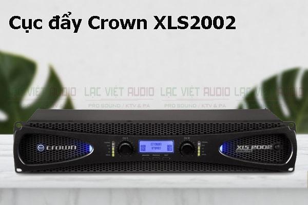 Thiết kế bên ngoài của sản phẩm Cục đẩy Crown XLS2002