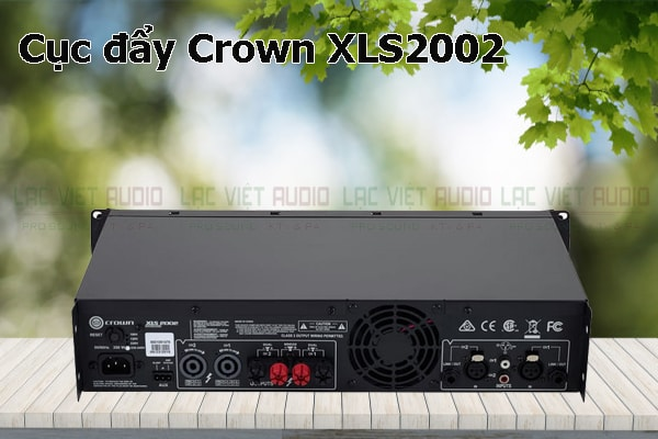 Tính năng nổi bật của sản phẩm Cục đẩy Crown XLS2002