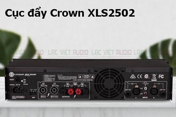 Thiết kế bên ngoài của sản phẩm Cục đẩy Crown XLS2502