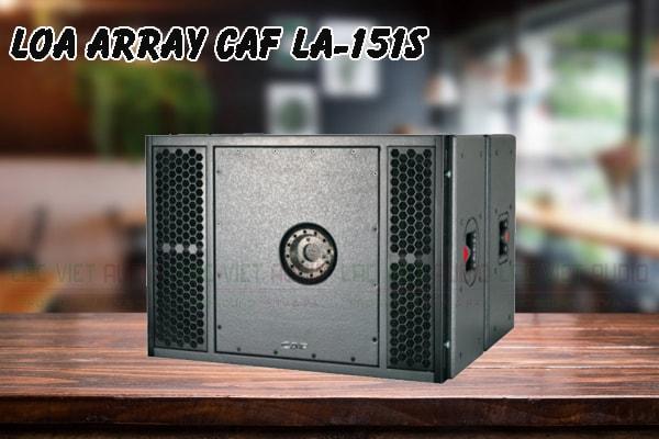 Tính năng nổi bật của sản phẩm Loa array CAF LA 151S