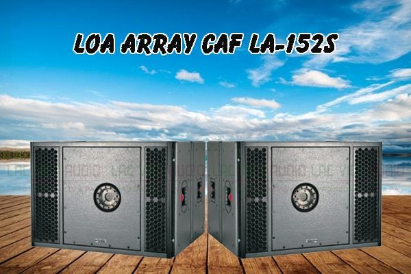 Tính năng nổi bật của sản phẩm Loa array CAF LA 152S