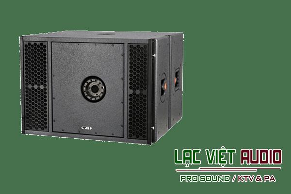 Giới thiệu về sản phẩm Loa array CAF LA 181SA