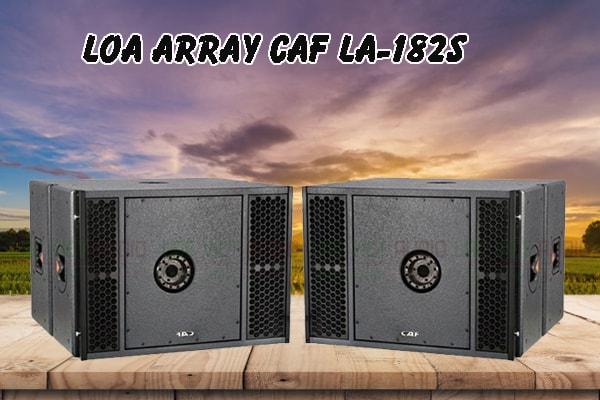 Tính năng nổi bật của sản phẩm Loa array CAF LA 182S