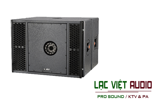 Giới thiệu về sản phẩm Loa array CAF LA 182S