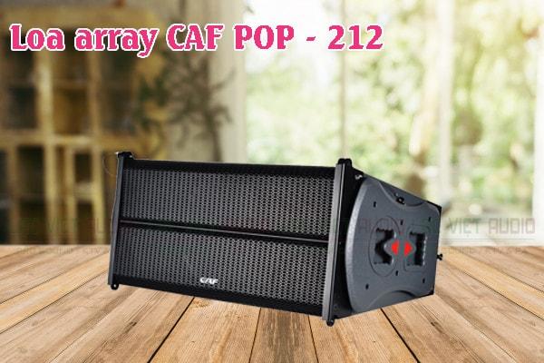 Tính năng của sản phẩm Loa array CAF POP 212