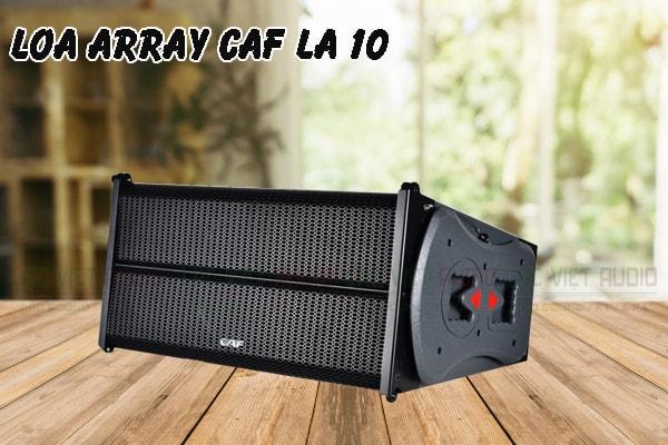 Thiết kế Loa array CAF LA10