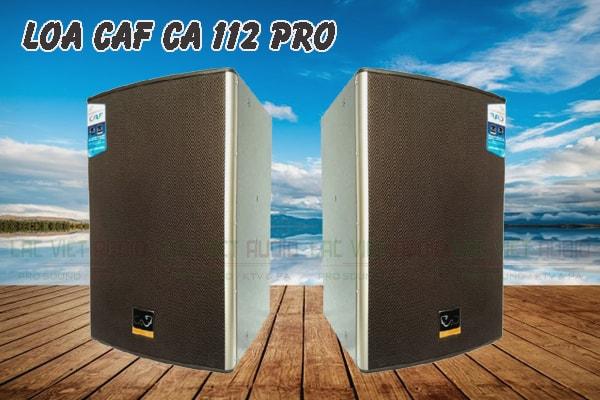 Thiết kế của sản phẩm loa CAF CA 112 Pro