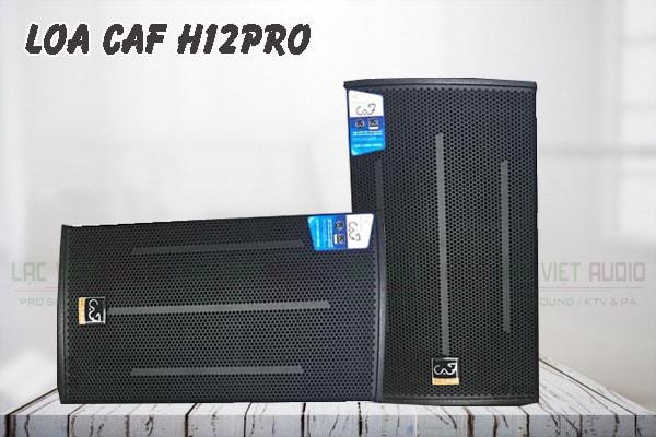 Giới thiệu về sản phẩm Loa CAF H12pro