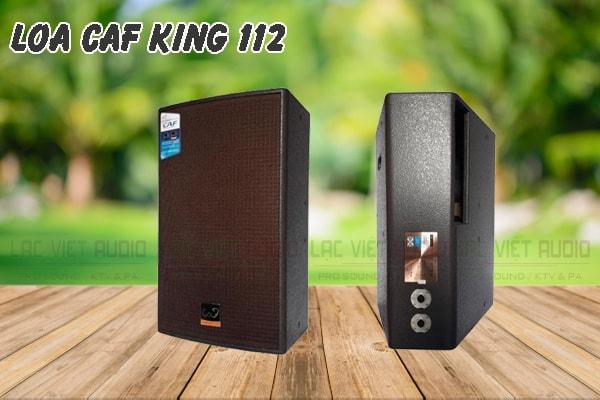 Thiết kế của sản phẩm loa CAF King 112