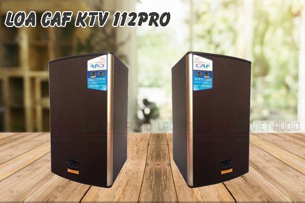 Thiết kế của sản phẩm Loa CAF KTV 112pro