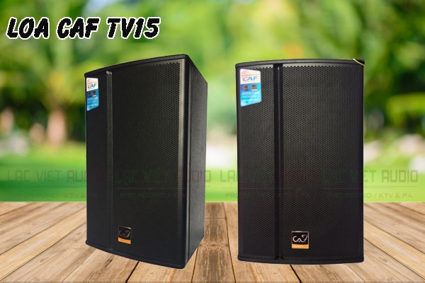 Thiết kế của sản phẩm Loa CAF TV15