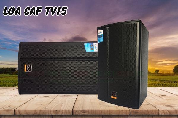 Tính năng nổi bật của sản phẩm Loa CAF TV15