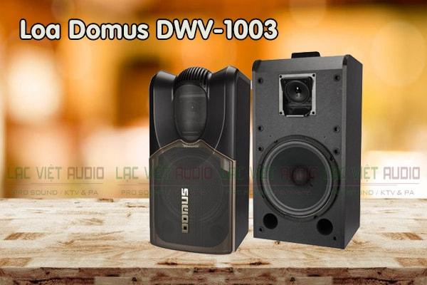 Thiết kế Loa Domus DWV 1003 - Lạc Việt Audio