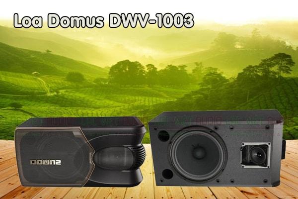 Tính năng Loa Domus DWV 1003 - Lạc Việt Audio