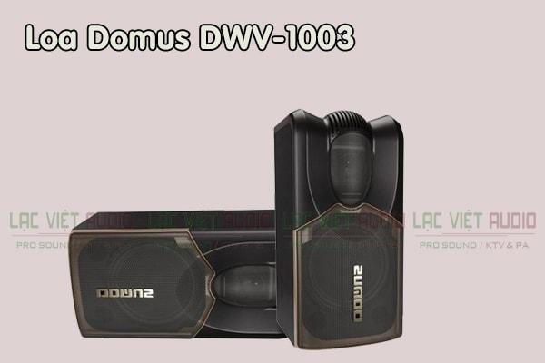 Cấu tạo Loa Domus DWV 1003 - Lạc Việt Audio