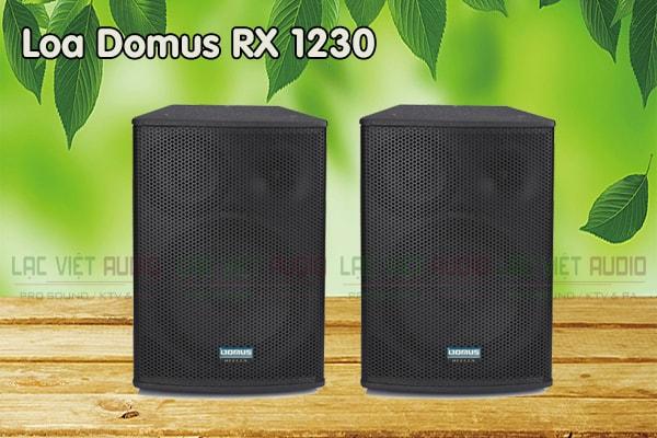 Thiết kế Loa Domus RX 1230 - Lạc Việt Audio