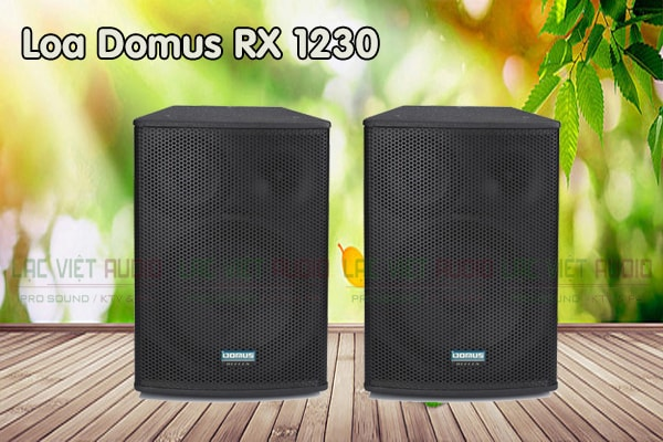 Giới thiệu Loa Domus RX 1230 - Lạc Việt Audio