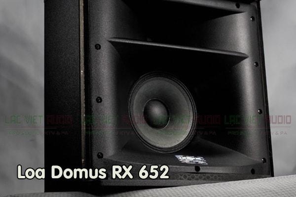 Cấu tạo Loa Domus RX 652 - Lạc Việt Audio