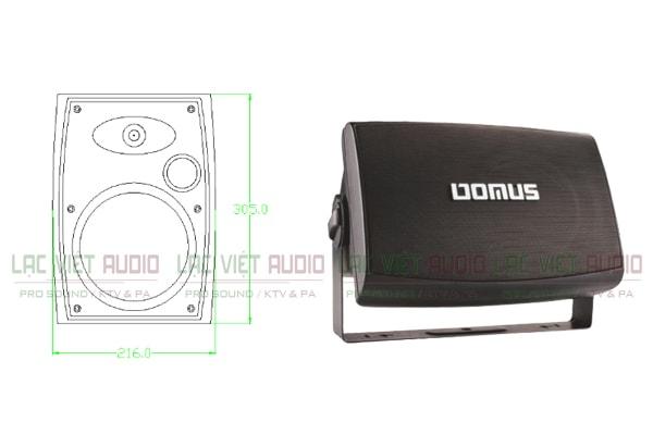 Thiết kế Loa Domus SR K7 - Lạc Việt Audio