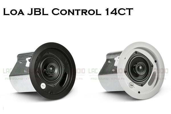Thiết kế bên ngoài của loa âm trần JBL Control 14C/T rất hút mắt, sang trọng